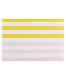"kate spade new york Springtime PVC Yellow 13"" x 19"" Placemat"