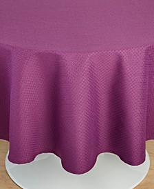 "Maya Mulberry 70"" Round Tablecloth"