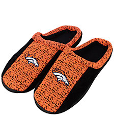 Forever Collectibles Denver Broncos Knit Cup Sole Slippers