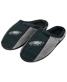 Forever Collectibles Philadelphia Eagles Knit Cup Sole Slippers
