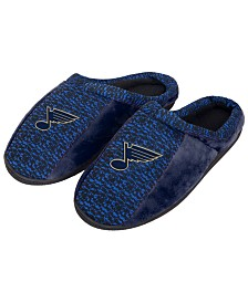 Forever Collectibles St. Louis Blues Knit Cup Sole Slippers