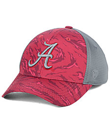 Top of the World Alabama Crimson Tide Tiger Camo Flex Stretch Fitted Cap