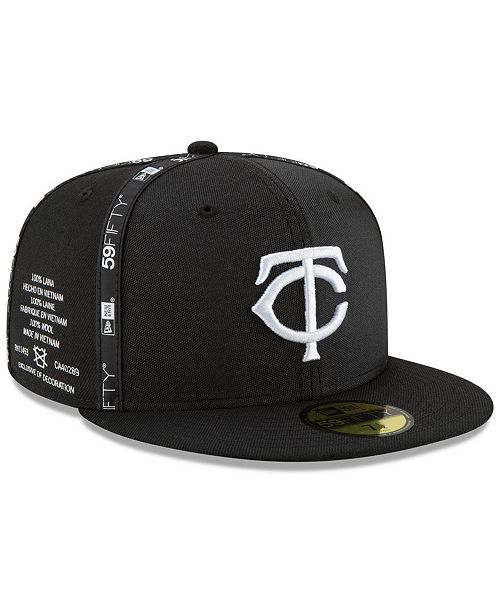 detailed look f5f41 7964a ... New Era Minnesota Twins Inside Out 59FIFTY-FITTED Cap ...