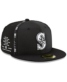 low priced b80f1 f9c2f New Era Seattle Mariners Inside Out 59FIFTY-FITTED Cap