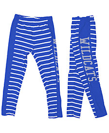 Wes & Willy Kentucky Wildcats Stripe Leggings, Girls (4-16)