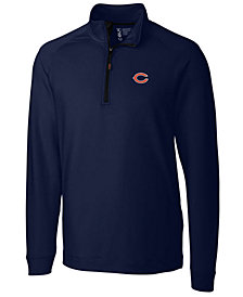Cutter & Buck Men's Chicago Bears Jackson Half-Zip Pullover