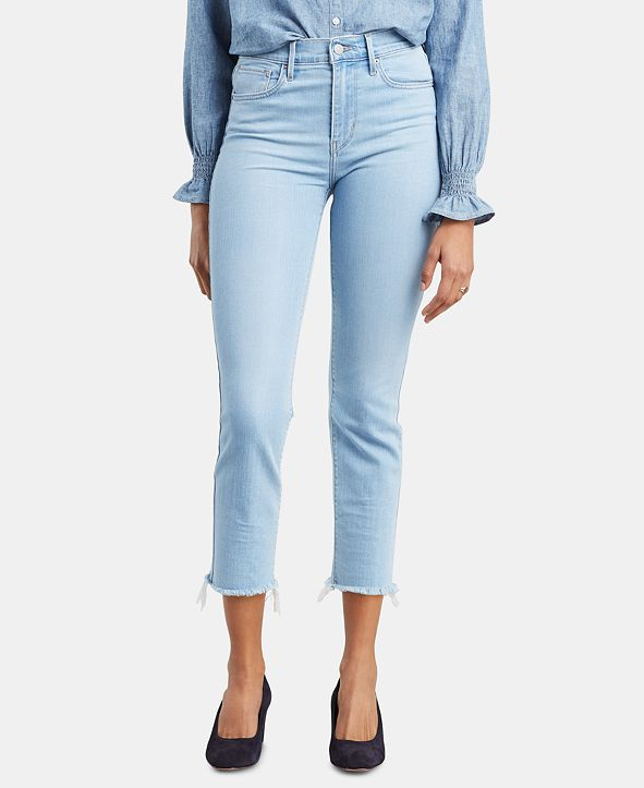 Levi's Women's 724 Straight-Leg Cropped Jeans