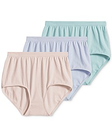 Comfies® Cotton Brief Underwear - 3 Pack 3348