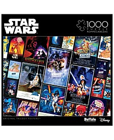 Star Wars Collage - Original Trilogy Posters- 1000 Pieces Puzzle