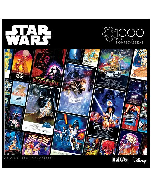 Buffalo Games Star Wars Collage Original Trilogy Posters 1000 Pieces Puzzle Reviews Kids Macy S