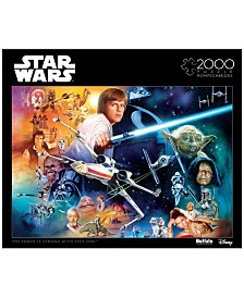 Star Wars - The Force is Strong With This One- 2000 Pcs Puzzle