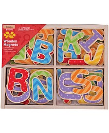 Wooden Magnets - Uppercase Letters