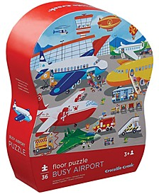 Busy Airport Floor Puzzle- 36 Piece