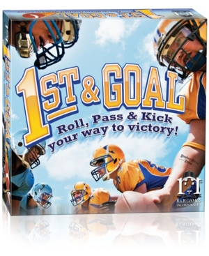 1st and Goal Football Board Game- Roll, Pass and Kick Your Way to Victory!