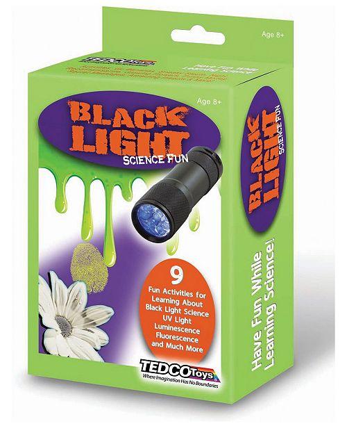 Tedco Toys Black Light Science Fun Kit
