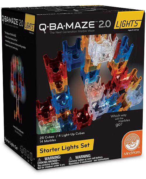 MindWare Q-BA-MAZE 2.0- Starter Lights Set Puzzle Game