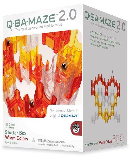 MindWare Q-BA-MAZE 2.0 Starter Box - Warm Colors- 50 Piece Puzzle Game