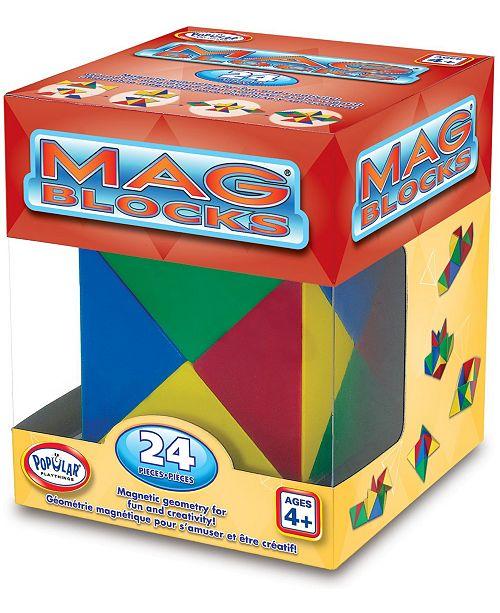 Popular Playthings Mag Blocks 24 Pieces Set