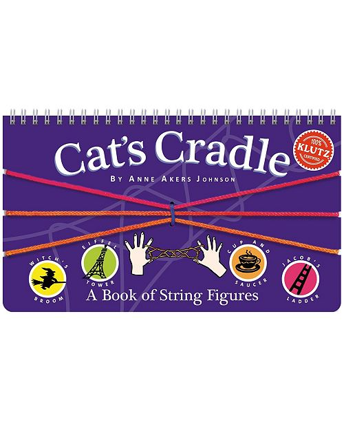Klutz Cat's Cradle - A Book Kit of String Figures
