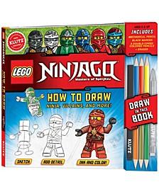 LEGO Ninjago - How to Draw Ninja, Villains, and More!