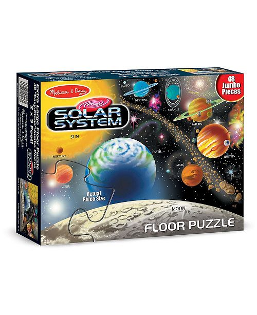 Melissa and Doug Solar System Floor Puzzle- 48 Pieces