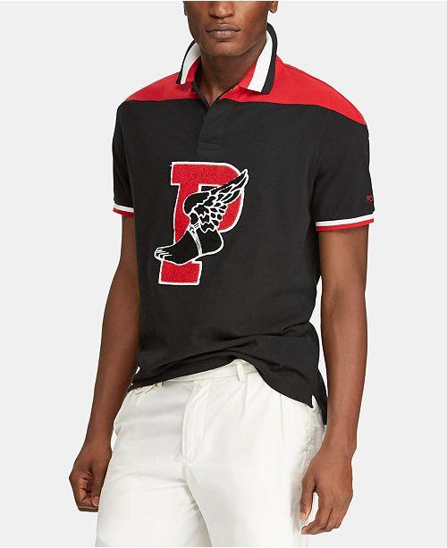 Polo Ralph Lauren Men's Classic Fit P-Wing Mesh Cotton Polo