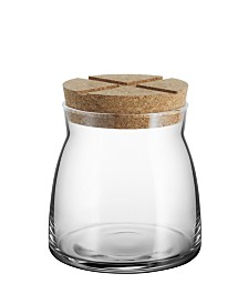 Kosta Boda Bruk Medium Jar w/Cork