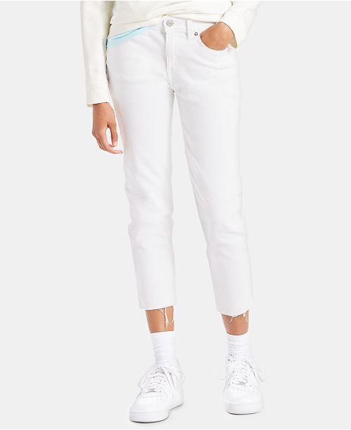 Levi's Ankle Boyfriend Jeans