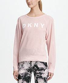 DKNY Sport Logo Long-Sleeve T-Shirt, Created for Macy's
