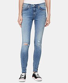 Calvin Klein Jeans CKJ 001 Ripped Skinny Jeans