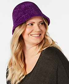 August Hats Chenille Cloche