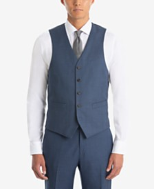 Lauren Ralph Lauren Men's UltraFlex Classic-Fit Sharkskin Wool Vest