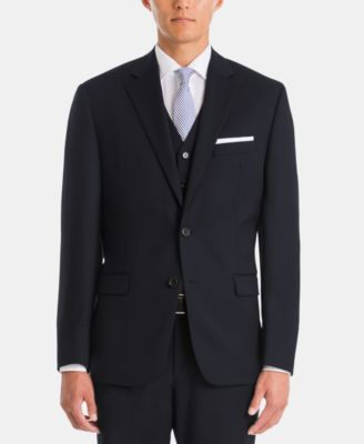 Men's UltraFlex Classic-Fit Wool Suit Jacket