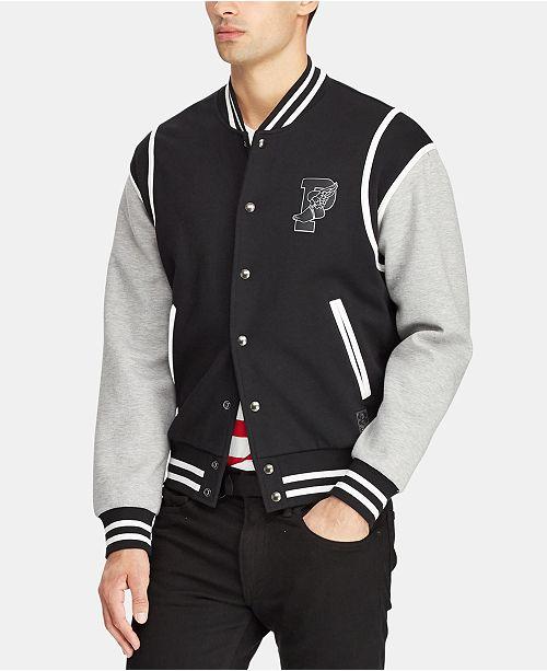 27b997513497e Polo Ralph Lauren Men s P-Wing Baseball Jacket   Reviews - Coats ...