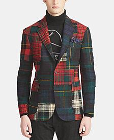 Polo Ralph Lauren Men's Patchwork Sport Coat