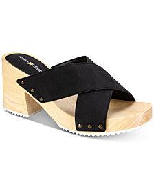 Seven Dials Malta Block-Heel Slide Sandals