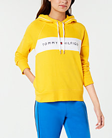 Tommy Hilfiger Sport Colorblocked Logo Hoodie