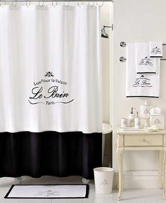Kassatex Bath Accessories Le Bain Shower Curtain