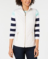 Charter Club Quilted Puffer Vest, Created for Macy's