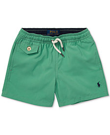 Polo Ralph Lauren Toddler Boys Traveler Twill Swim Trunks