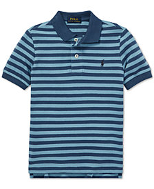 Polo Ralph Lauren Toddler Boys Featherweight Cotton Mesh Polo