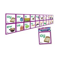 Junior Learning Vowel Sound Wall Border Learning Activity