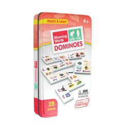 Junior Learning Rhyming Word Dominoes Match and Learn Educational Learning Game