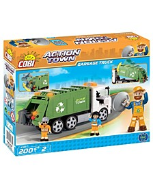 Action Town ECO Town Garbage Truck 200 Piece Construction Blocks Building Kit