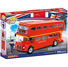 Action Town London Bus 435 Piece Construction Blocks Building Kit