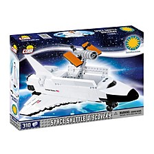 Smithsonian Space Shuttle Discovery 310 Piece Construction Blocks Building Kit