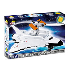 COBI Smithsonian Space Shuttle Discovery 310 Piece Construction Blocks Building Kit