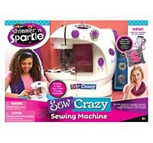 Cra Z Art Shimmer N Sparkle Sew Crazy Sewing Machine Craft Kit