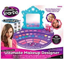 Cra Z Art Shimmer N Sparkle Crazy Lights Ultimate Make Up Designer Kit