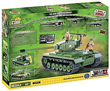 COBI Small Army M26 Pershing Tank Construction Blocks Building Kit